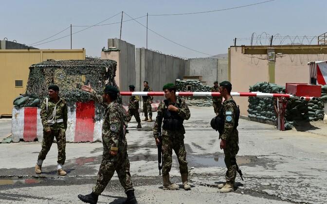 Afganistani sõdurid.