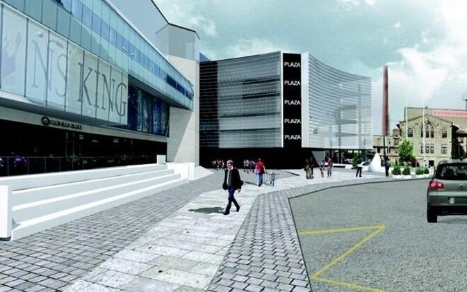 Hobujaama kvartalisse kavandatakse jalakäijate tänavat.