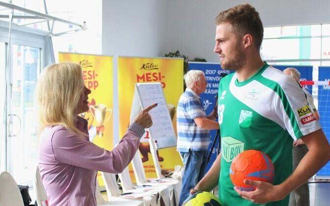 Anu Säärits ja Andre Sild
