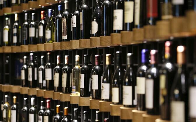 Veinipudelid.