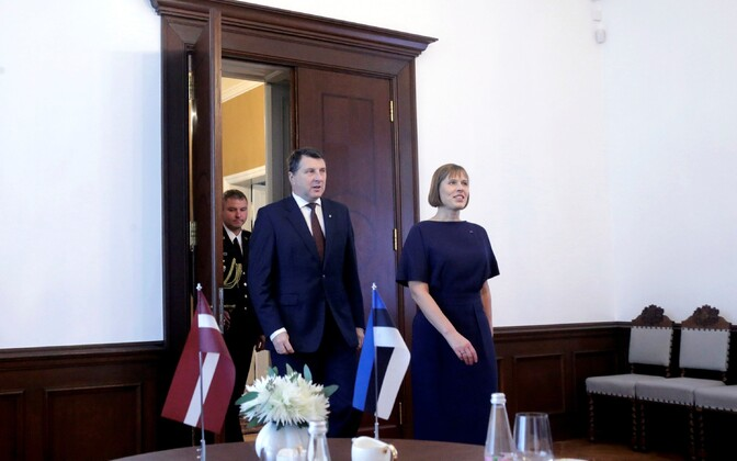 President Kaljulaiu tutvusvisiit Lätis