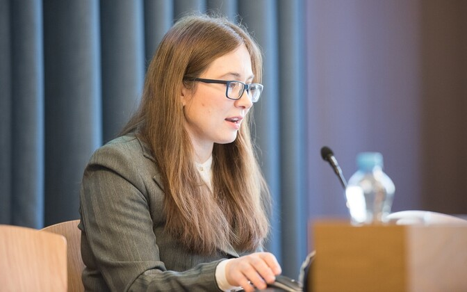 Bank of Estonia economist Orsolya Soosaar.