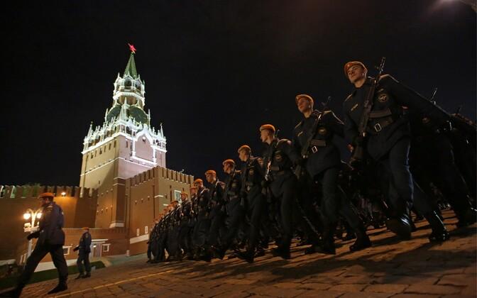 Kreml ja Punane väljak Moskvas.