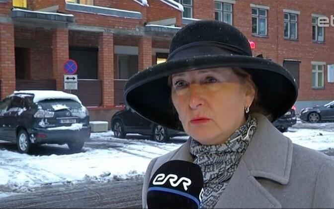 Экс-мэр Нарва-Йыэсуу Ираида Чубенко.
