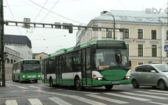 Общественный транспорт Таллинна.