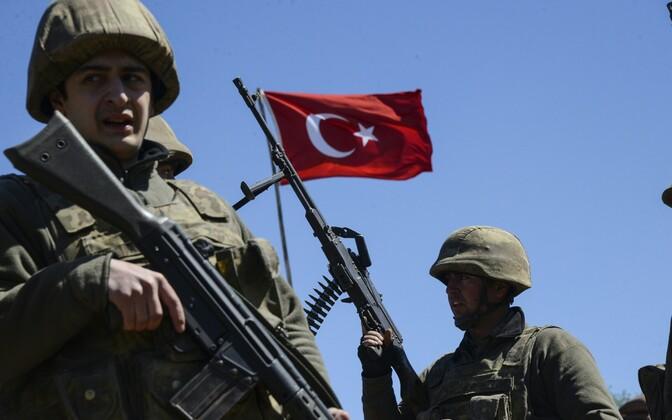 Türgi sõdurid, arhiivifoto.