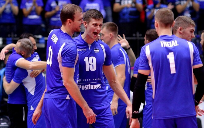 Eesti võrkpallikoondis