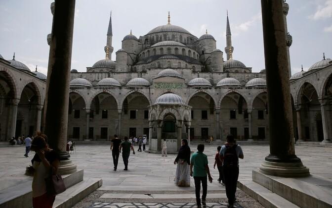 Sultan Ahmeti ehk Sinine mošee Istanbulis.