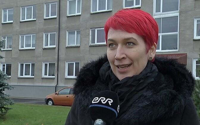 Старейшина волости Тюри Пипи-Лийз Сиеманн.