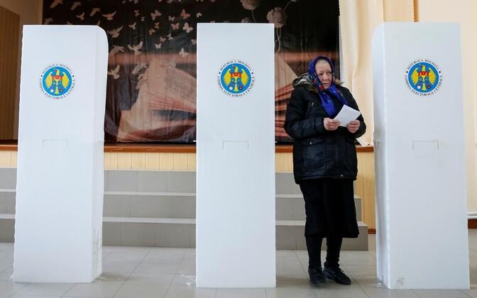 Presidendivalimised Moldovas 30. oktoobril.