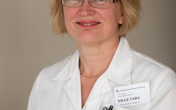 Tartu ülikooli neuroloogia professor Pille Taba.