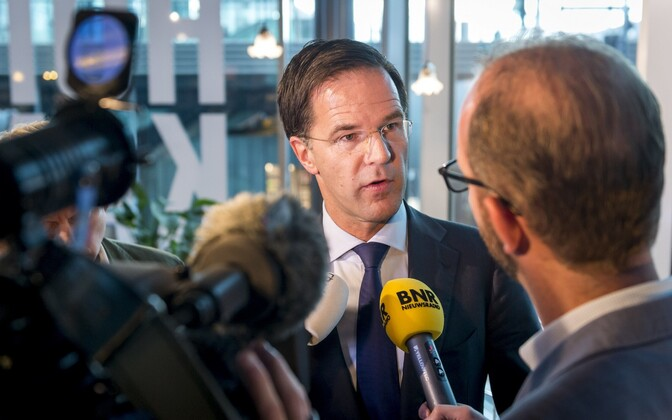 Hollandi peaminister Mark Rutte.