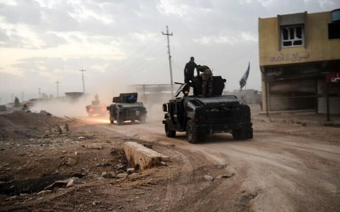 Иракский спецназ на подступах к Мосулу.