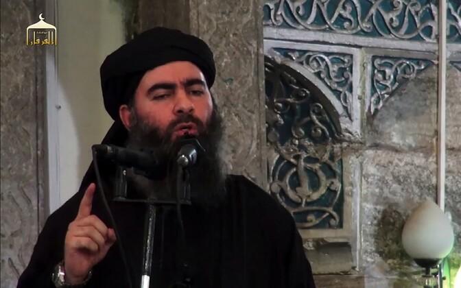 Arvatav ISIS-e liider Abu Bakr al-Baghdadi Mosulis.