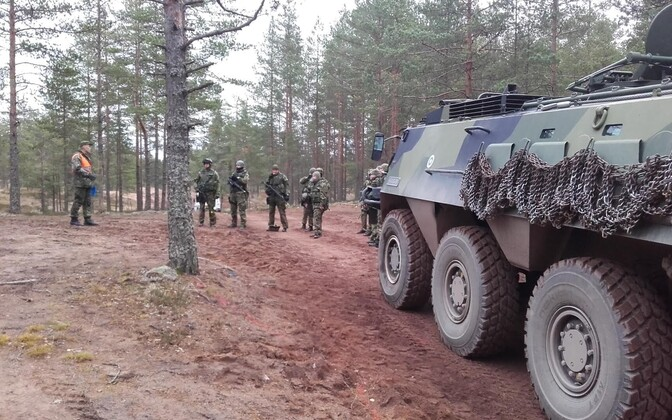 Estonian troops in the ESTPLA-22 platoon have been in Finland training for their upcoming peacekeeping mission in Lebanon.