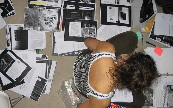 Doktoritöö kirjutamise kõrvalt võib olla raske loenguid andmas käia.