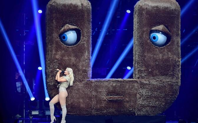 USA laulja ja õhtujuht Bebe Rexha
