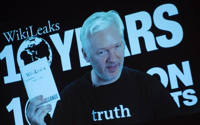 WikiLeaksi asutaja Julian Assange.