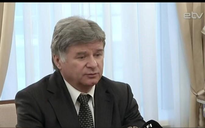 Посол РФ в Эстонии Александр Петров.