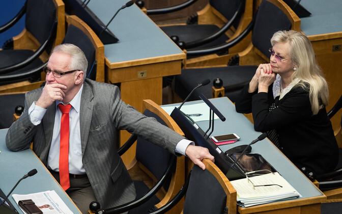 Heimar Lenk ja Marika Tuus-Laul.