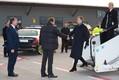 Kersti Kaljulaid saabumas Berliini.