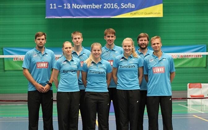 08d484b7f1c Eesti sulgpallurid alustasid EM-valikturniiri võiduga Leedu üle ...