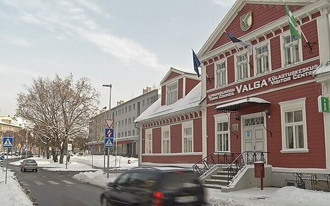 Valga Town Hall.