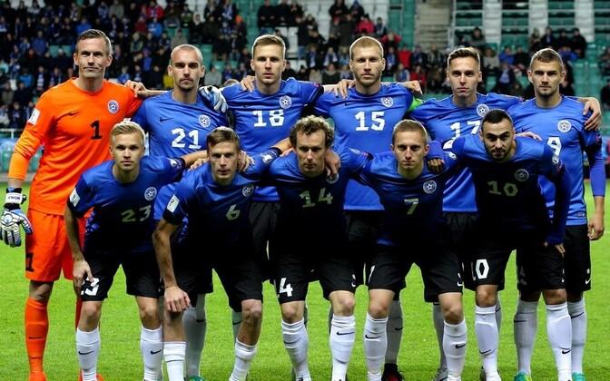 Сборная Эстонии по футболу добилась прогресса.