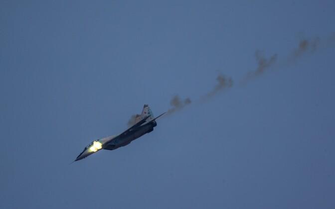 Vene sõjalennuk MiG-29, arhiivifoto.