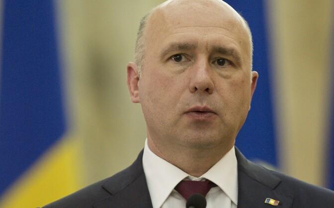 Moldova peaminister Pavel Filip.