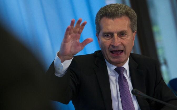 Eurovolinik Günther Oettinger.
