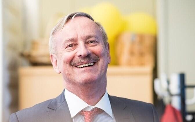 Former EU transport commissioner and European Commission vice president, Siim Kallas.