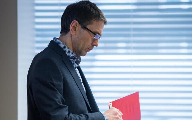 Swedbank chief economist Tõnu Mertsina.