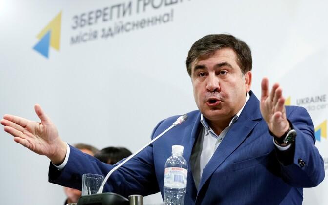 Gruusia endine president ja nüüdseks ka endine Odessa kuberner Mihheil Saakašvili.