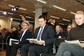 Keskerakonna volikogul osalejad laupäeval Mectorys.
