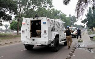 ÜRO rahuvalvajad Kongo Demokraatlikus Vabariigis.
