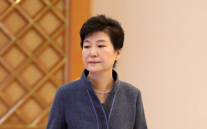 Бывший президент Южной Кореи Пак Кын Хе.