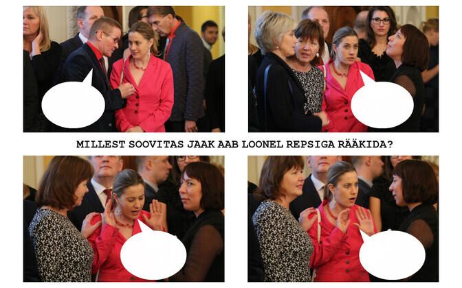 Jaak Aab, Oudekki Loone ja Mailis Reps