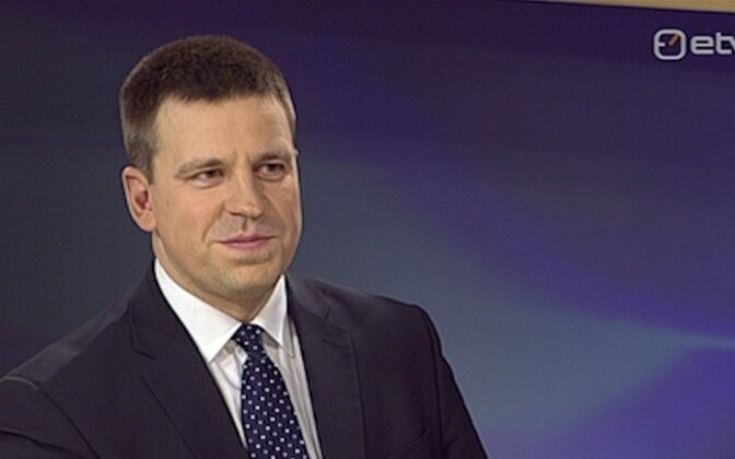 Jüri Ratas on ETV's