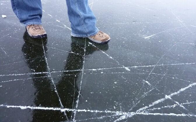 Лед. Иллюстративная фотография.