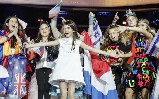 Laste Eurovisiooni lauluvõistlus