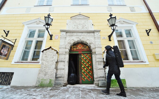 House of the Blackheads in Tallinn's medieval Old Town.