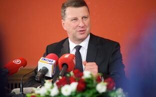 Läti president Raimonds Vejonis.