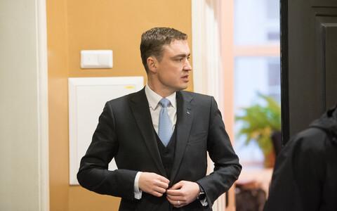 Second Vice-President of the Riigikogu Taavi Rõivas (Reform).