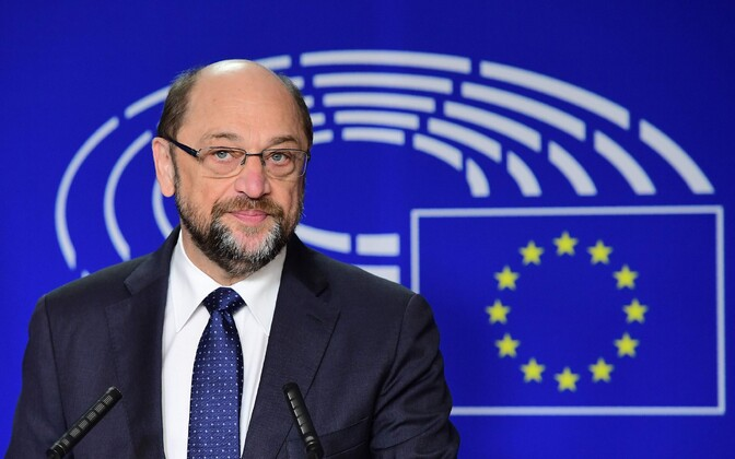 Saksa sotsiaaldemokraat, europarlamendi esimees Martin Schulz.