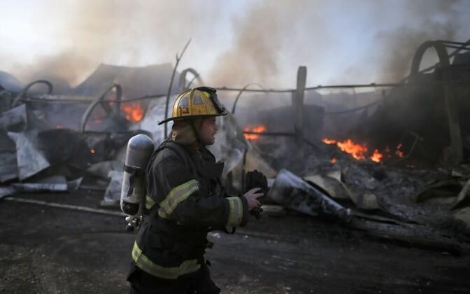 Израильский пожарный.