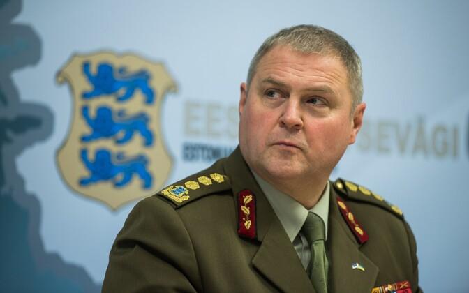 Commander of the Estonian Defence Forces Gen. Riho Terras.