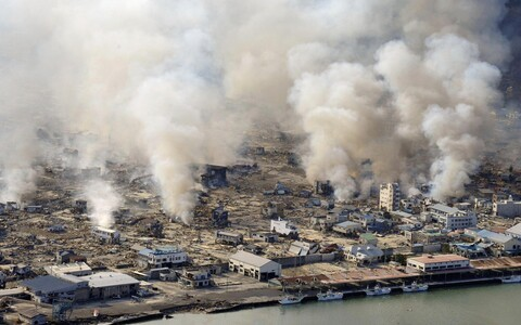 Tohoku-Oki maavärina tagajärjed.
