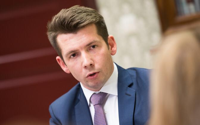 Мартин Репинский выступил на выборах в Йыхви лучше всех.