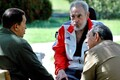 Фидель Кастро, Рауль Кастро и Уго Чавес (2008).